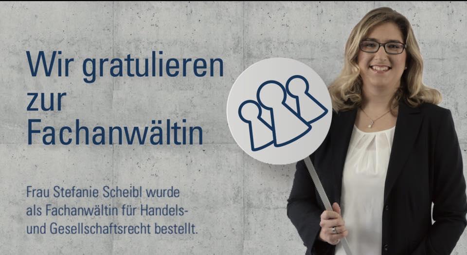 Kanzlei Loserth und Partner - RAin Stefanie Scheibl Fachanwältin