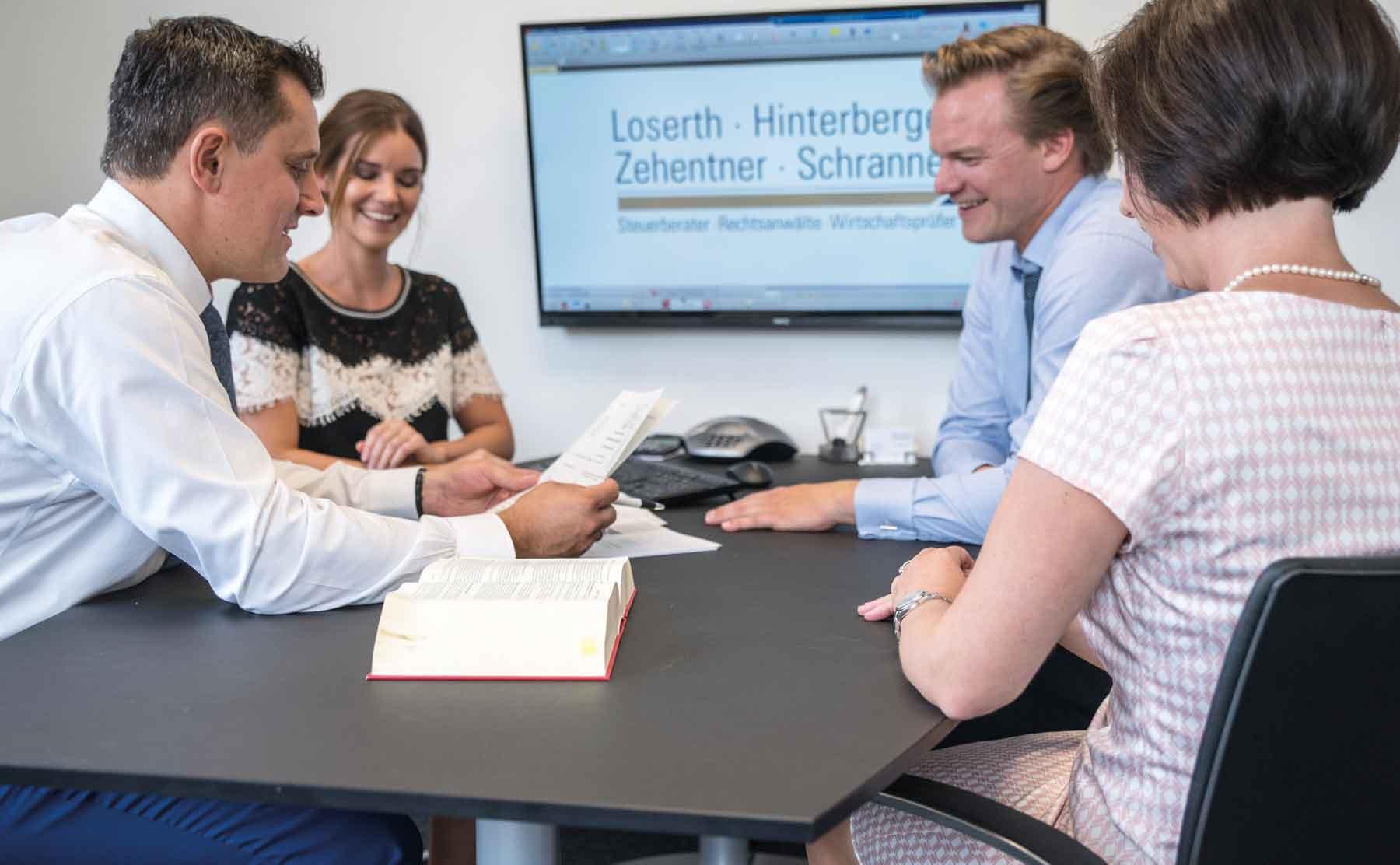 Team von Oelmaier und Partner, Mühldorf und Altötting