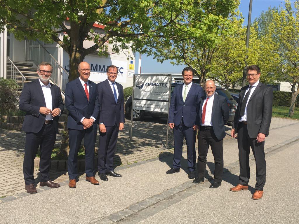 Schweizer Firma übernimmt Ammatec GmbH Ampfing